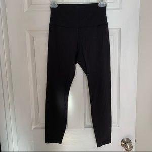 Black lulu lemon leggings